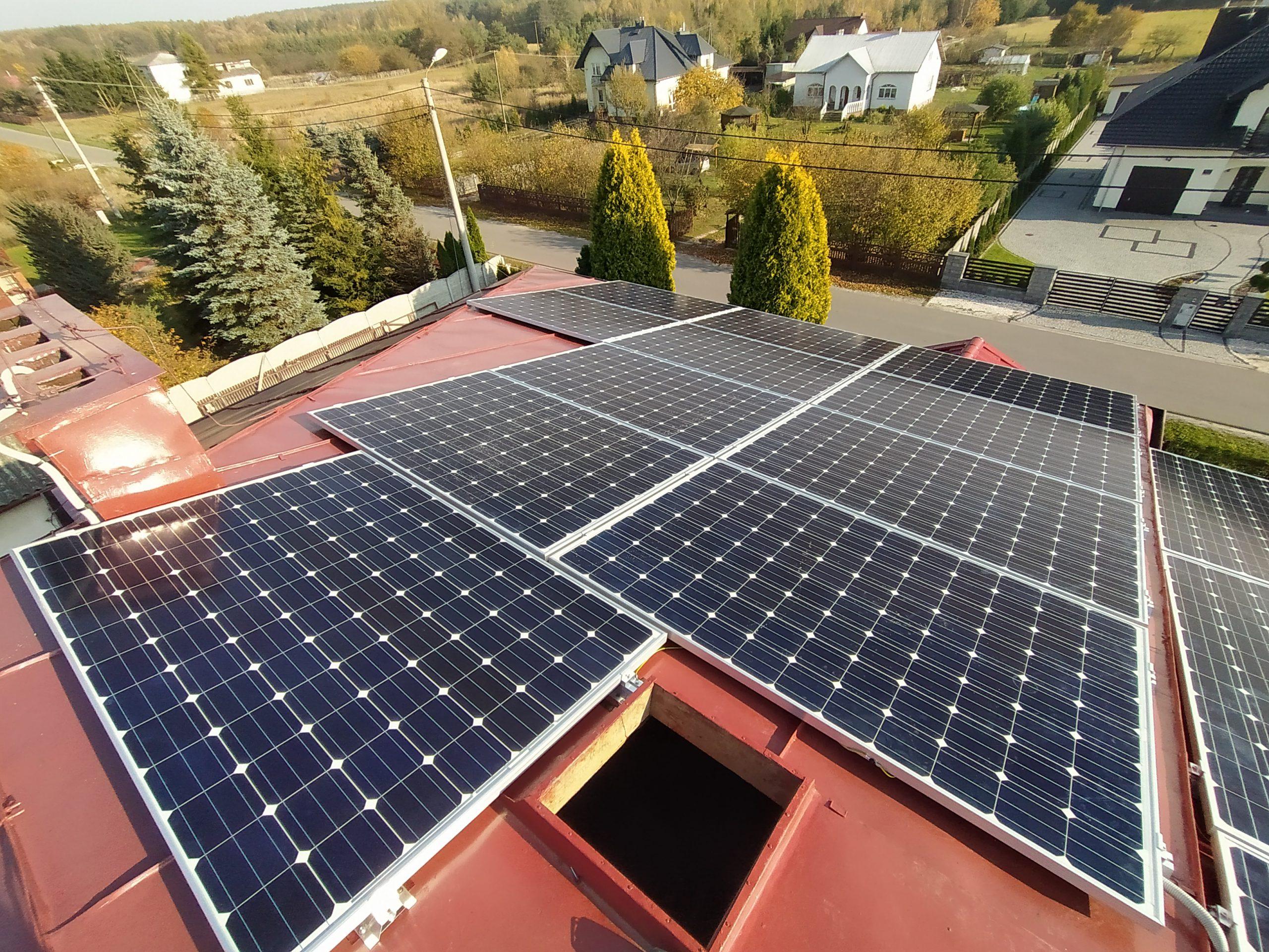 realizacja fotowoltaiczna - SolarGlek
